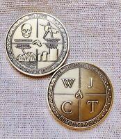 Stoic coin - Memento Mori - Amor Fati - Summum Bonum... Reflection coin