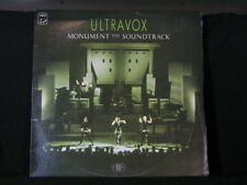 Ultravox. Monument. The Soundtrack. 33 lp Record Album. 1983.