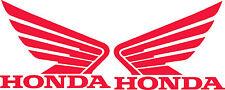 Adesivi replica HONDA con ali per serbatoio lato dx sx Adesivi Moto 10 colori