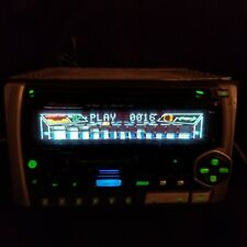 Pioneer Fh-P404 Cd Cassette Player Car Stereo Receiver Deck Double Din Rare