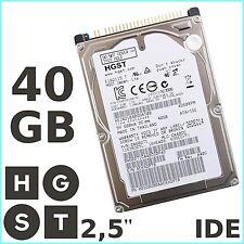 """HGST - DISQUE DUR INTERNE pour PC portable 40Go IDE / ATA / PATA - 2,5"""""""