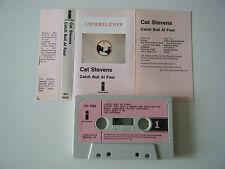 CAT STEVENS CATCH A BULL AT FOUR CASSETTE TAPE 1972 PINK PAPER LABEL ISLAND UK