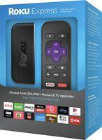 Roku Express Streaming Media Player 3700R 2016 Model Brand New