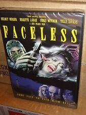 Faceless (DVD) Jess Franco, Helmut Berger, Lina Romay, Telly Savalas, BRAND NEW!