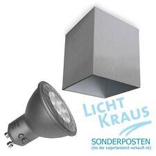Boxy Deckenleuchte Aktion incl. LED Farbe Aluminum gebürstet Delta Light