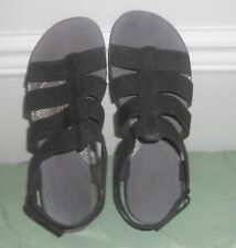 Clarks Cloud Steppers Slingback Arla Shaylie Slingback Black Sandals  9.5 W $68