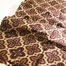 Fait à la main marbre//Blender imprimé plage indonésien Bali Batik 100/% Premium Coton