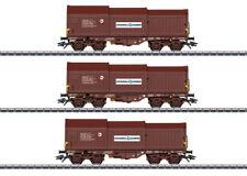 Märklin 46873 Güterwagen-Set mit 3 Teleskophaubenwagen der SNCB Neuware