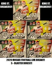 LOS ANGELES CHARGERS 2020 Panini MOSAIC Football (6) BLASTER Box Break #50