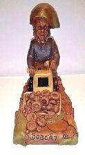Tom Clark Gnome Figurine Bobcat Farm Equipment 1990 Limited Edition Cat