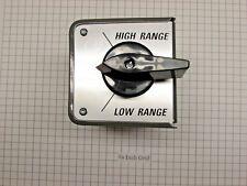 Original Suppler for Bridgeport Fwd/Rev Switch W/Cover, (No Cables) PN 11598117