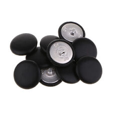 20 Stücke Mini Baumwollgewebe Bedeckt Tasten Craft Nähen Polster 10mm