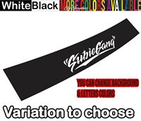 Gy Subiegang Windshield Sun visor Decal Sticker Banner for Subaru Sti Wrx Brz