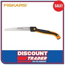 "Fiskars 10"" Steel Blade SoftGrip™ Folding Pruning Saw - 9047"