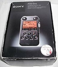 New SONY PCM-M10 (Black) Audio Linear PCM Recorder F/S EMS from JAPAN