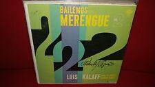 Luis Kalaff - Bailemos Merengue Vol. 2 - Rare LP in Good Condition L1