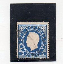 India Portuguesa Monarquias valor del año 1886 (AO-55)