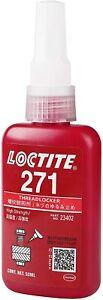 LOCTITE 271 Threadlocker Heavy Duty High Strength Oil 50ml Bottle Red