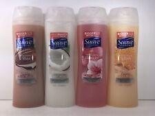 4  Suave Body Wash: Cocoa Butter, Milk & Honey, Coconut & Wild Cherry, 1 of Each
