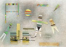 Kunstpostkarte -  Wassily Kandinsky:  Komposition