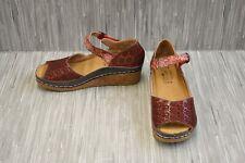 **L'Artiste by Spring Step Delphia Sandals, Women's Size 7.5-8 / EU 38, Red