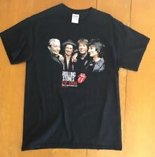 Rollings Stones Zip Code USA Tour Of North America 2015 T-shirt Size M