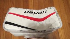 Used Cory Schneider Bauer Reactor Pro Stock Goalie Blocker.  Right Hand Devils