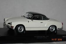 VW Karmann Ghia Coupe 1970 weiß-schwarz 1:18 Minichamps  neu & OVP 155054021