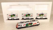 Bemo #7259 140 Powered Electric Locomotive Train Set HOm Scale 1/87 Narrow Gauge