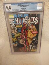 Cable Deadpool Annual #1 Variant 16-Bit New Mutants 98 Homage CGC 9.8