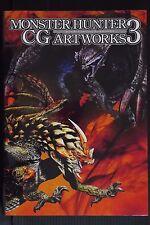 """JAPAN Monster Hunter Art book """"Monster Hunter CG Art works vol.3"""""""