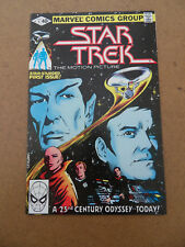 Star Trek 1 . Marvel 1980 . VF - minus