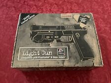 PS1, Sega Saturn, Real Arcade Light Gun Silver Limited Edition, Super Jolt Gun