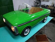 antique VERY RARE Vintage SOVIET USSR Kids pedal car Moskvich
