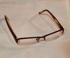 50e55fcdb9 Nicole Miller Street Couture Eyeglasses FRAMES Designer SEMI RIMLESS 50    17 130