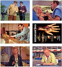 Goldfinger James Bond 007 POSTCARD Set