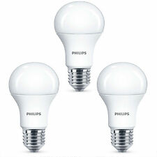 3x Philips 5.5w=40W Corepro Led GLS A60 Es / E27 Blanco Cálido 2700k Ópalo