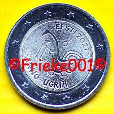 Estland - Estonie - 2 euro 2021 comm.(Oegrische Volkeren)