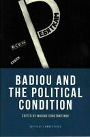 Badiou and the Political Condition (Critical Connections), Excellent Books