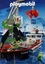 Prospekt Playmobil 2005 2006 Spielzeugkatalog Katalog Spielzeuge catalog toys jo