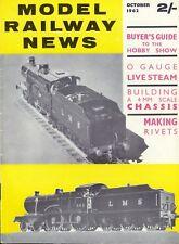 Model Railway News Oct 1962 Signals, Ironclads, Chipping Camden, Wagons, etc