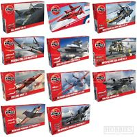 Airfix 1:72 Model Kits Aircraft Planes Red Arrows Hawk Folland Fouga Provost Jet