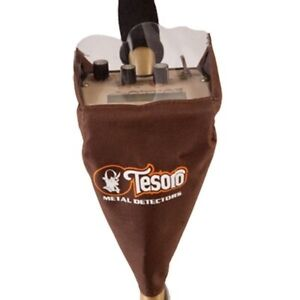Tesoro Large Rain Jacket Metal Detector Cover for Control Box Color Brown