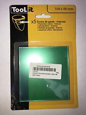 5 Stück GYS Vorsatzscheibe innen Standard LCD ERGOTECH 5-9