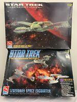 Star Trek Model Kit AMT ERTL Klingon Bird of Prey Enterprise Legendary Encounter
