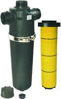 """Filtro acqua irrigazione a cartuccia Dischi 130 mesh in linea filettato 3"""""""