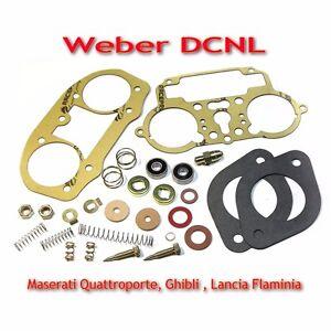 Weber 35/38/40 DCNL service gasket MAXI kit repair set Lancia Flaminia, Maserati