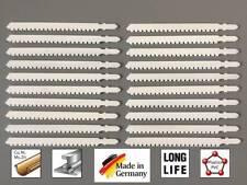 20  Stichsägeblätter T-Schaft  Bosch Aufnahme Spezialblatt für Laminat Parkett
