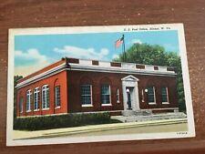 Postcard WEST VIRGINIA US Post Office HINTON W. VA 1949