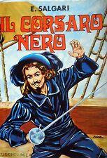 ROMANZO IL CORSARO NERO E.SALGARI LUCCHI 1972